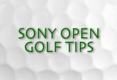 Sony Open Golf Betting Tips & Preview 2017