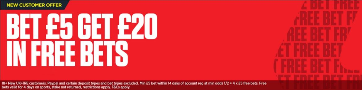 Ladbrokes Bonus Offer