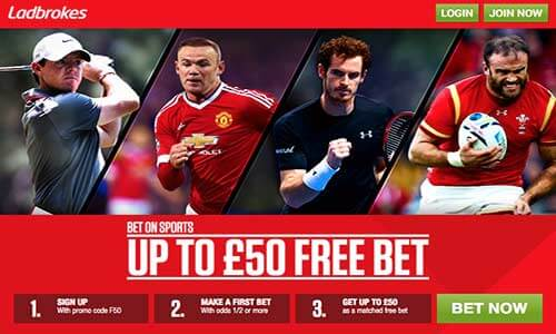 Ladbrokes Free Bet Offer