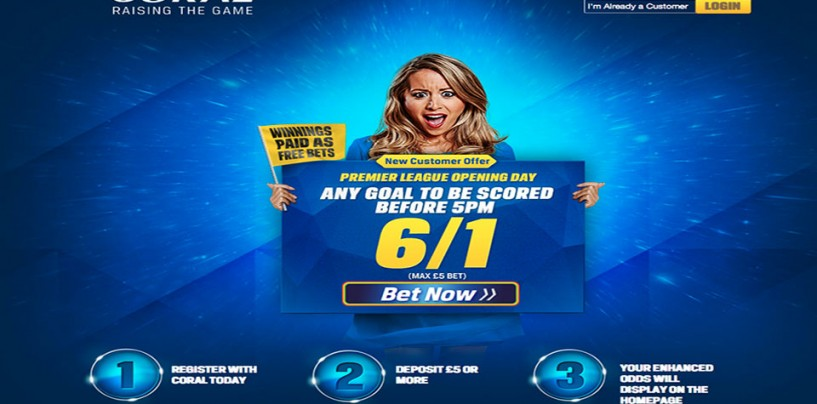 Corals Sign Up Free Bet Offer Premier League
