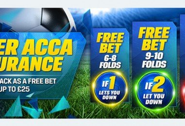 Corals Super Acca Insurance Football Bet