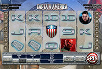 Play Free Slots Captain America