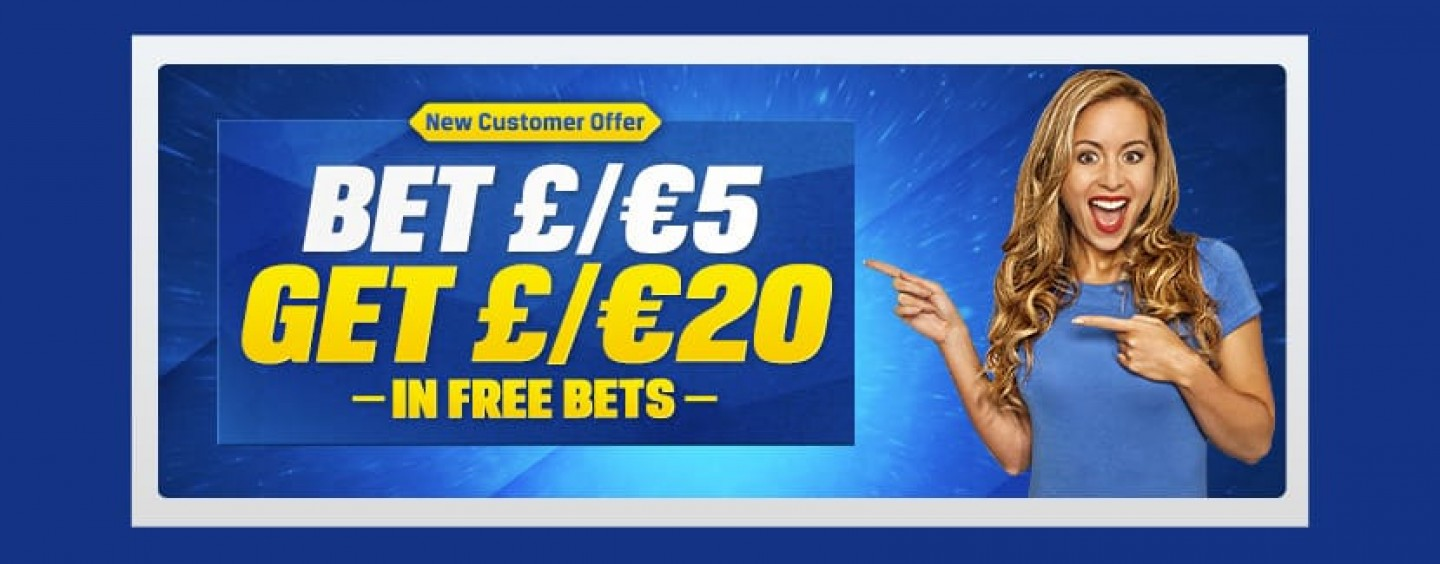 Coral Bet £5 Get £20 Free Bets Offer