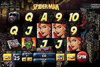 Play Free Slots Spiderman