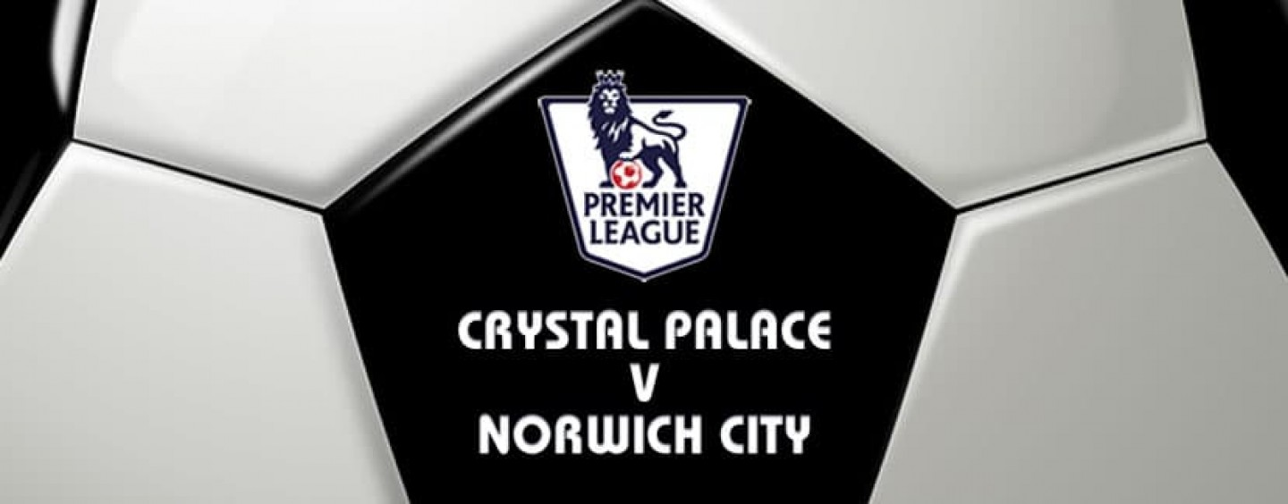 Crystal Palace v Norwich Football Betting Preview & Tips