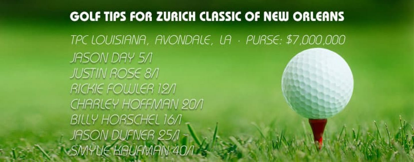 Zurich Classic of New Orleans Golf Betting Tips & Preview 2016