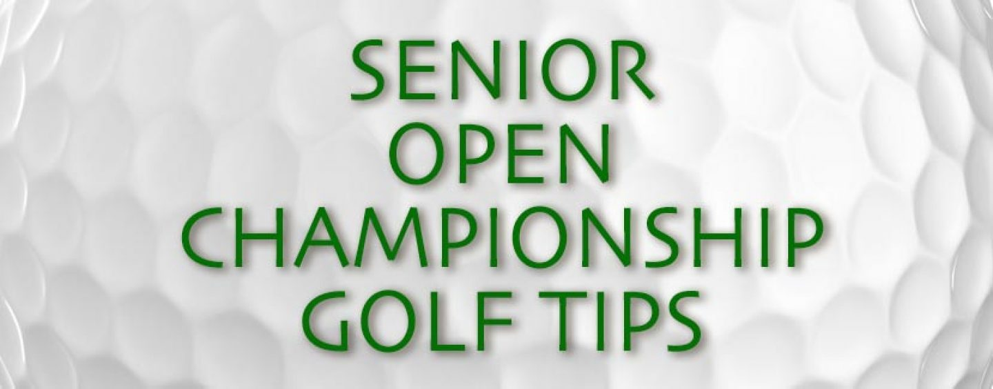 Senior Open Championship Golf Tips And Betting Preview