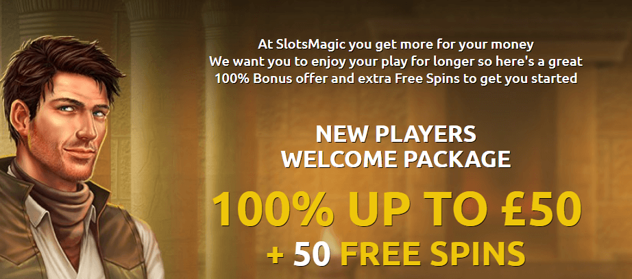 Slots Magic Casino Welcome Bonus Offer