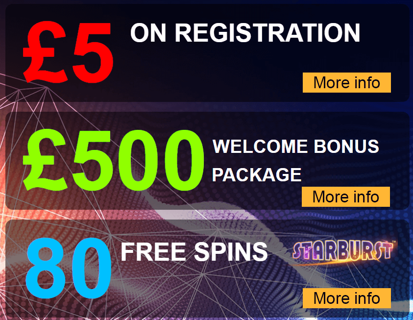 Cloud Casino Welcome Offer