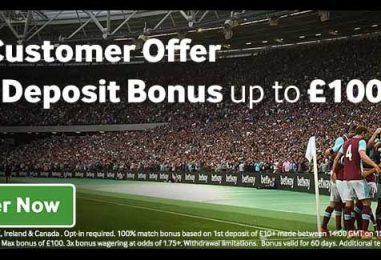 Betway Sports Sign Up Offer