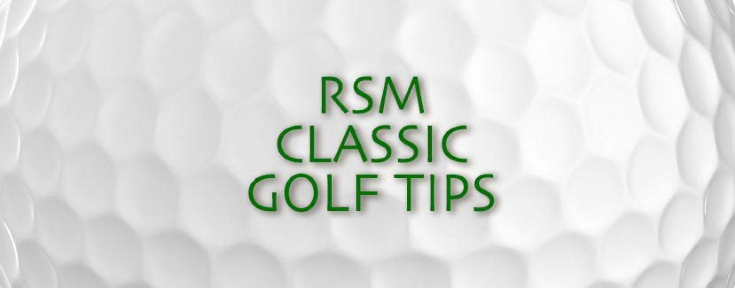 RSM Classic Golf Tips Betting Preview & Odds