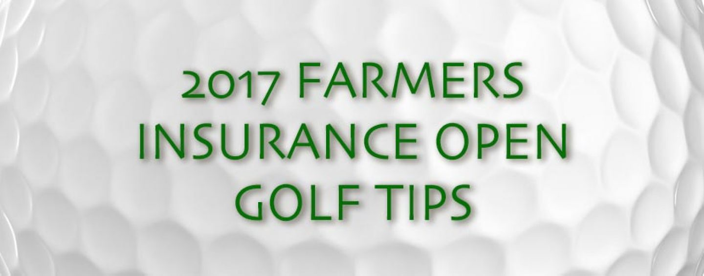 2017 Farmers Insurance Open Golf Tips And Preview