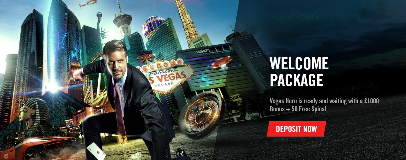 Vegas Hero Welcome Package